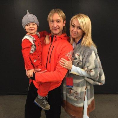 Трехлетний сын Рудковской и Плющенко готов пойти по стопам своего отца
