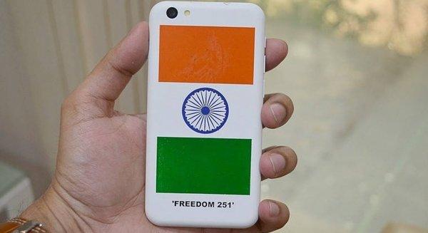 Индийский смартфон Freedom 251 стоимостью $4 поступит в продажу 30 июня