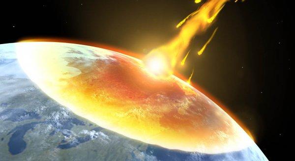 Через 12 лет огромный астероид столкнется с Землей и уничтожит материк