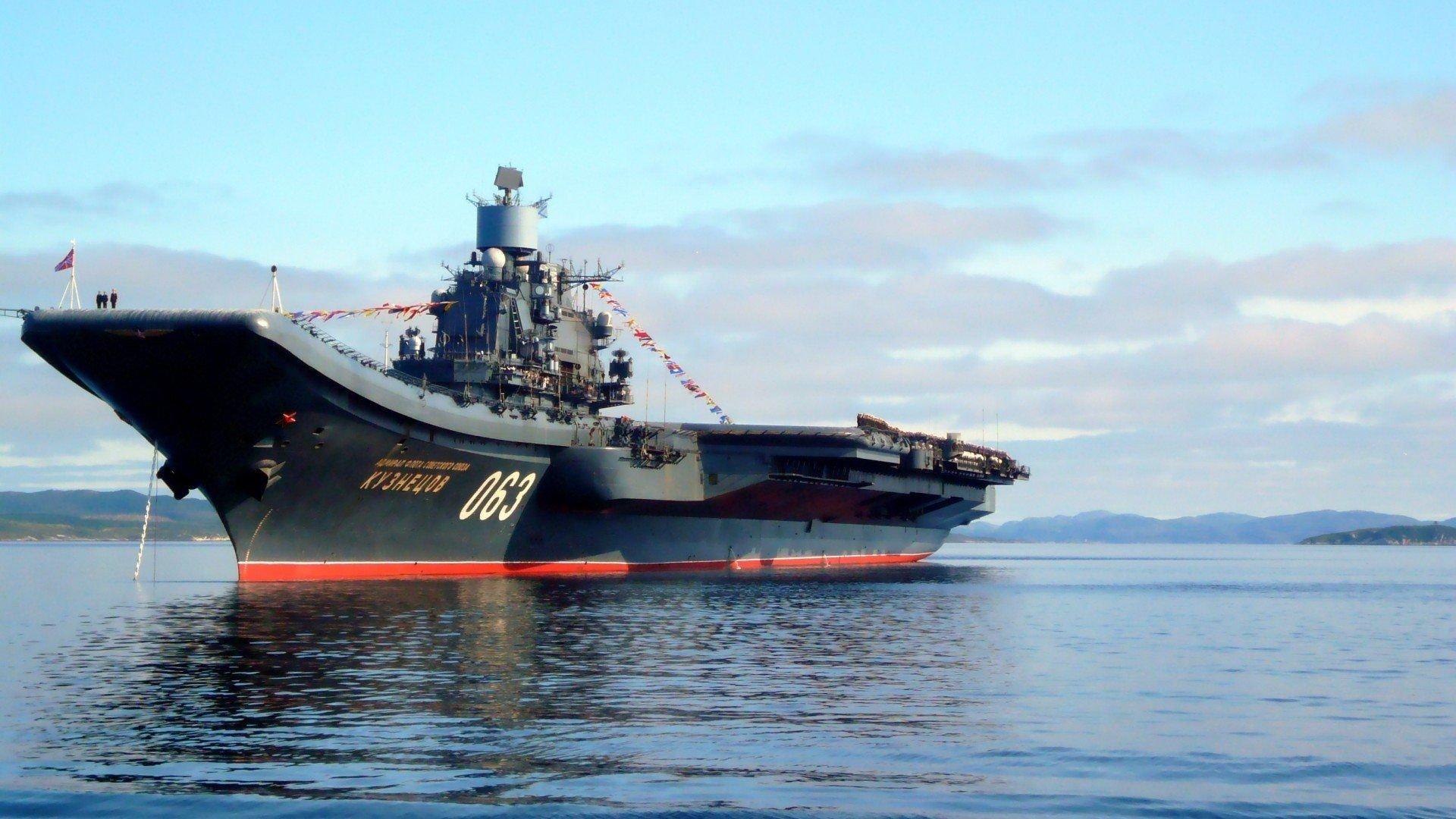 Полная боевая готовность. Корабли НАТО провоцируют «Адмирала Кузнецова»
