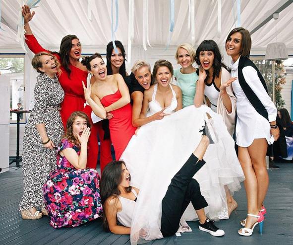 Юлия Топольницкая опубликовала новые свадебные фотографии