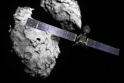 Миссия заонда Rosetta завершится 30 сентября столкновением с кометой