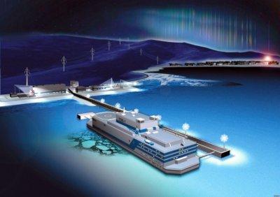 В России начали испытания первой в мире плавучей АЭС