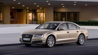 Фотошпионы заметили прототип нового поколения Audi A8