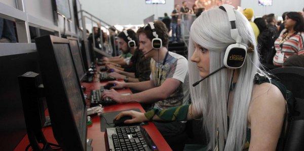 Российский рынок онлайн-игр в 2015 году вырос на 2%