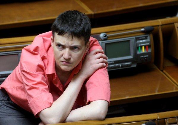 Савченко заняла место спикера в Верховной раде Украины