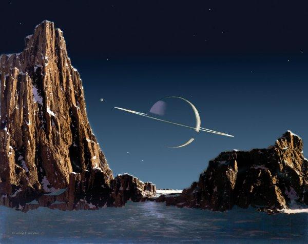 Ученые заявили о возможной жизни на Титане