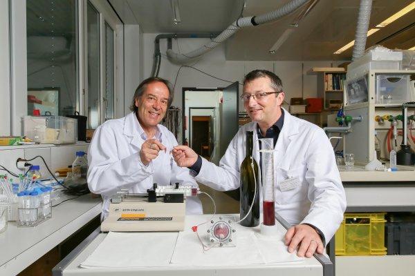 Инженеры разработали бесперебойный источник вина