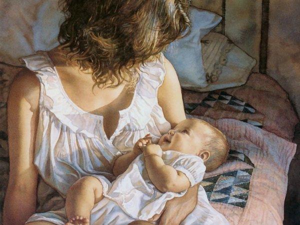 Американка стала звездой Facebook, посмеявшись над «прелестями» материнства