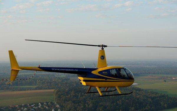 В Красноярском крае экстренную посадку произвел вертолет Robinson