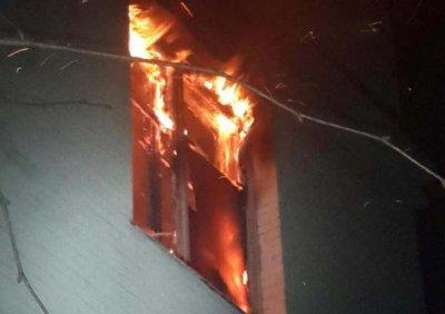 При пожаре в Волгоградской области пострадали двое детей
