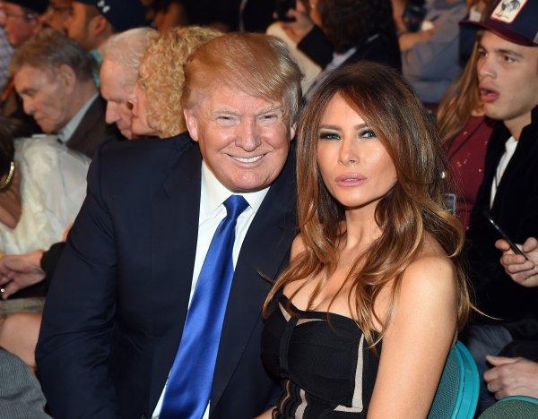 Супруга Дональда Трампа произнесла речь в рамках предвыборной кампании мужа