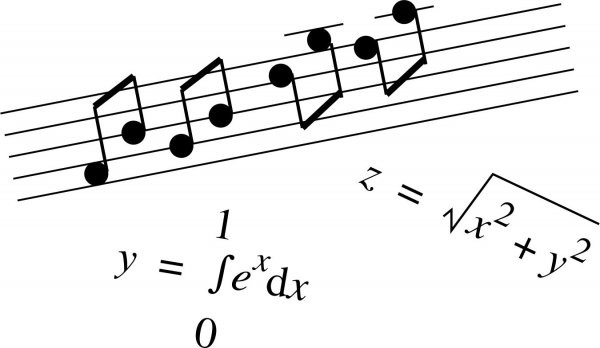 При помощи математики можно создать красивую музыку