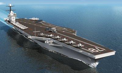 Новый американский авианосец назвали не пригодным к военным действиям