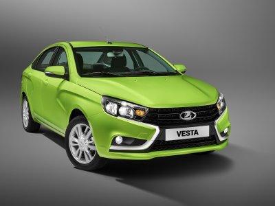 АвтоВАЗ презентовал электрическую версию Vesta