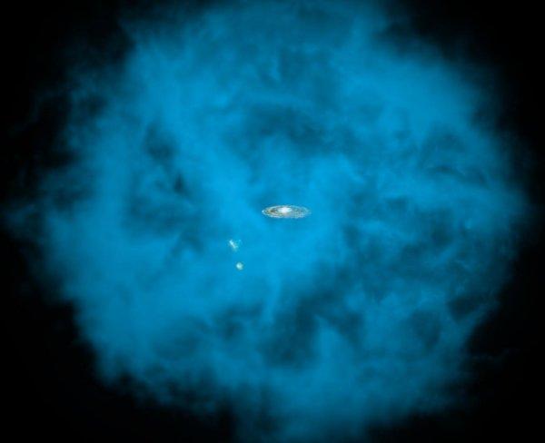 Астрономы сделали сенсационное открытие о формировании галактик