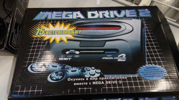 Sega перевыпустит игровую приставку Mega Drive