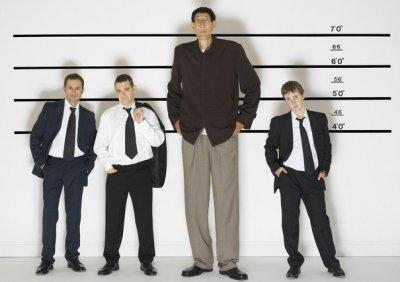 Названы страны, где живут самые высокие люди