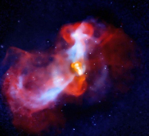 Ученые обнаружили в космосе две «первобытные» черные дыры