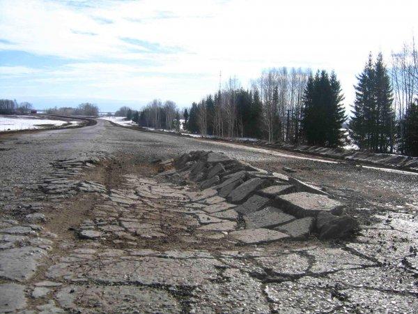 Генпрокурату: Плохие дороги в России становятся причиной половины ДТП