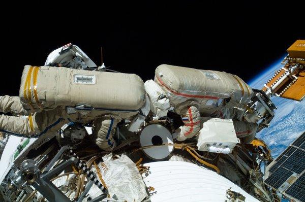 Астронавты NASA выйдут в космос для установки стыковочного адаптера на МКС