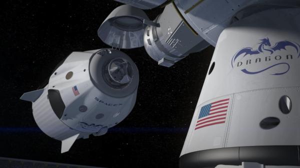 NАSА заказало SpaceX второй пилотируемый полет к МКС