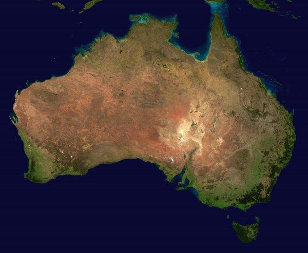 Очередной сдвиг Австралии угрожает неполадками в работе GPS