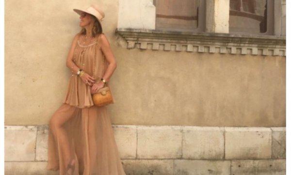 Ксения Собчак рассказала, что хочет красиво стареть во Франции
