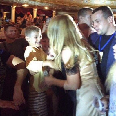 Тина Кароль показала своего 7-летнего сына