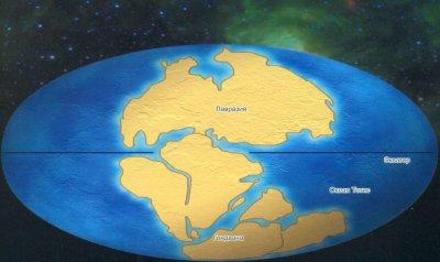 Ученые: Континенты снова могут собраться в Пангею