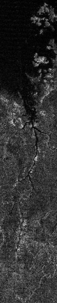 Cassini нашёл затопленные каньоны на спутнике Сатурна