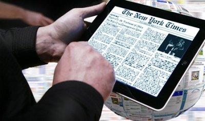 Россияне начали чаще читать новости в интернет-изданиях
