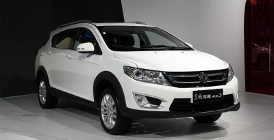 ����� ��������� Dongfeng AX3 ����� �� ��������� �����