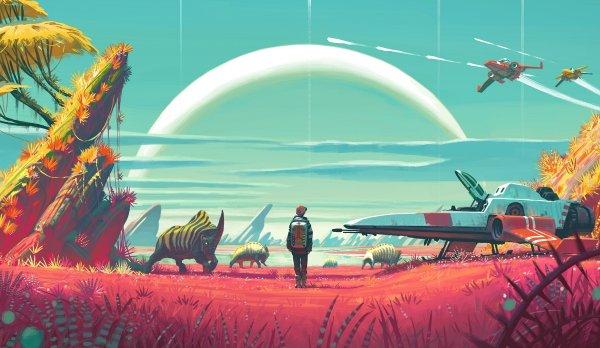 Игроки No Man's Sky приступили к исследованию огромного мира