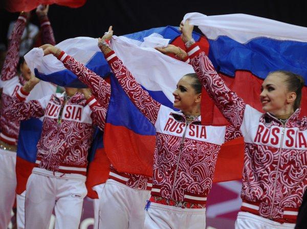Российская сборная по художественной гимнастике завоевала золото в Рио