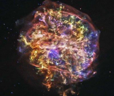 Ученые обнаружили новую оболочку вокруг звезды Тихо Браге