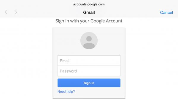 На странице авторизации Google найдена критическая уязвимость