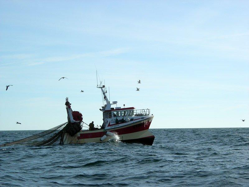 в рейс на рыбаки