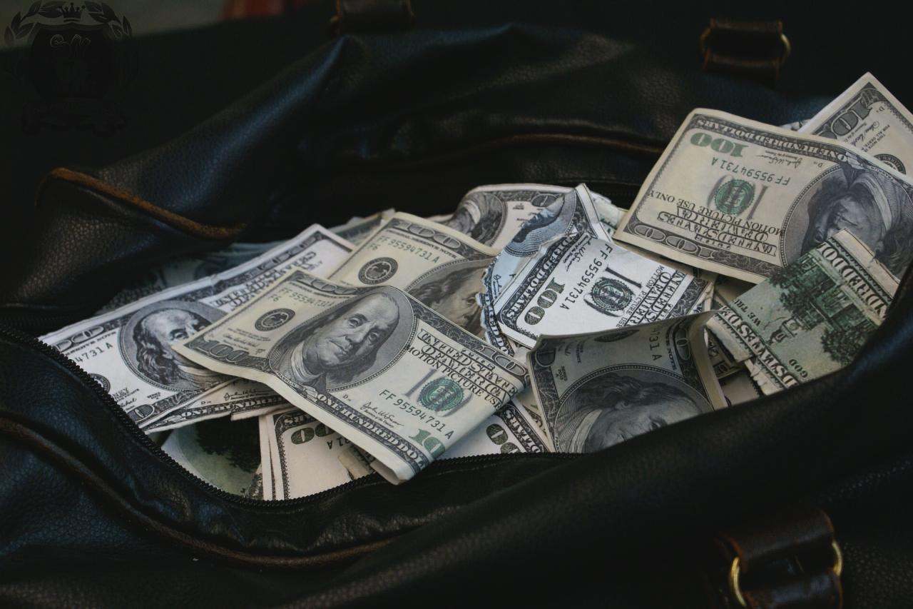 Деньги в сумке фото картинки