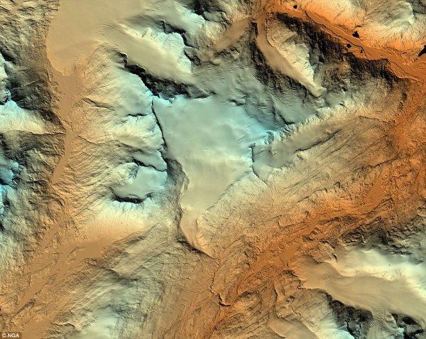 Американские специалисты создали интерактивные карты поверхности Аляски
