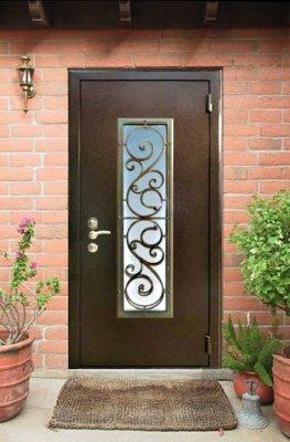 Модные металлические двери: выбор на века