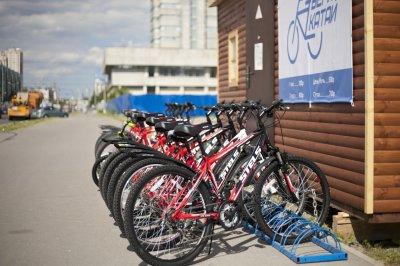 Жители Москвы смогут найти станции проката велосипедов через интернет
