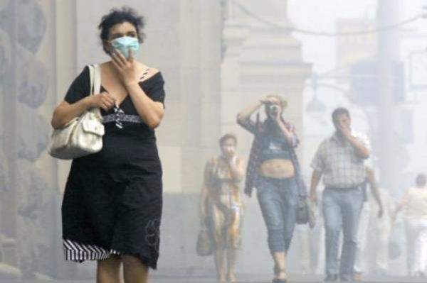 Ученые: Загрязнённый воздух насыщает мозг человека магнитными частицами