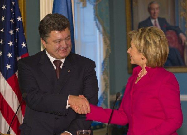 Клинтон и Порошенко проведут встречу в ООН