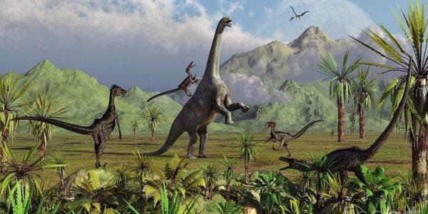 Динозавры маскировались как хамелеоны