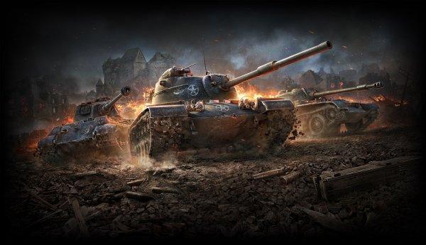 World of Tanks Blitz обновили новыми танками и картами