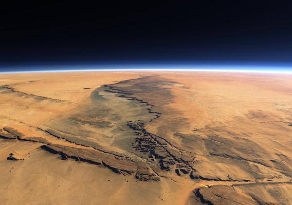 Ученые: Вода на Марсе существовала на 1 млрд лет дольше