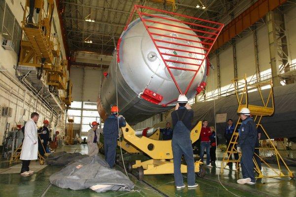 «Роскосмос» перенес запуск космического корабля «Союз МС-02»