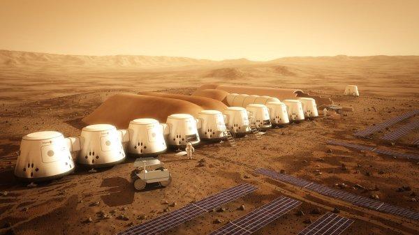 Колониальный транспортер SpaceX может отправиться за пределы Марса