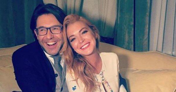 Линдси Лохан рассказала Андрею Малахову о жизни с сыном русского миллионера